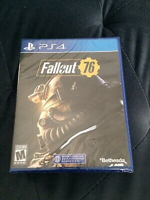FALLOUT 76 (Playstation 4 / PS4) FACTORY SEALED!