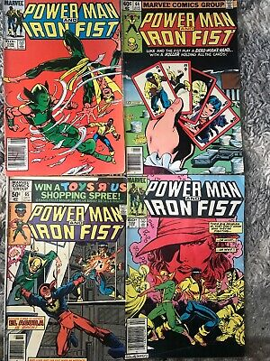 Luke Cage, Power Man And Iron Fist #106,102,65 And 64 Plus 4 For Free
