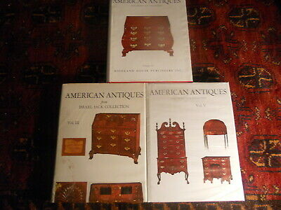 Lot AMERICAN ANTIQUES from Israel Sack Collection III V SEALED and IV Early Peri