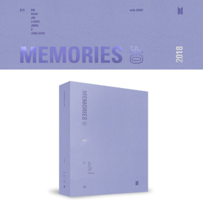 Bts [ Memories Of 2018 Dvd ] 4 Disc + Photobook + Frame + Card+ Tracking, Sealed