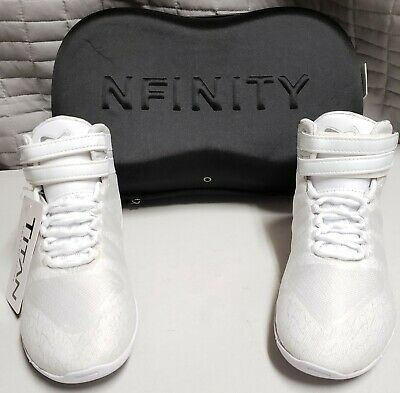 467032942c83d NFINITY EVOLUTION ADULT Cheer Shoes White Size 14 Cheerleading ...