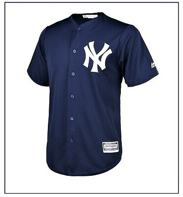 New York Yankees Cool Base Alternate Jersey by Majestic MEDIUM Size BNWT