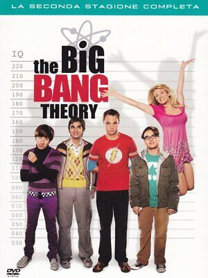 Dvd Big Bang Theory (The) - Stagione 02 (4 Dvd) 2007 Tv - serie Warner Home Vide