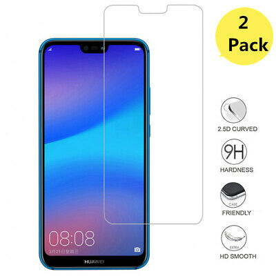 2 x For Huawei Tempered Glass New Full Screen Protector Mate 20 P20 P30 Pro Lite