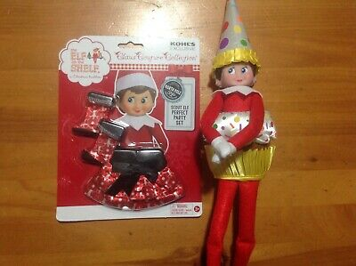 Elf on the Shelf A Christmas Tradition Plush Doll with two outfits