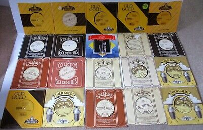 SELECTION OF 20 OLD GOLD singles BACK TO BACK HITS ALL IN TOP CONDITION JUKE BOX