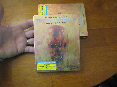 Terminator 2 Judgment Day Blu Ray Steelbook Limited Edition New Sealed