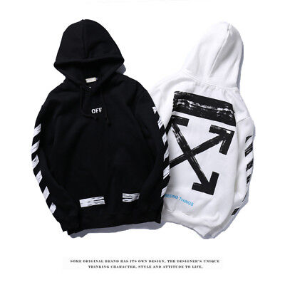 Off White Supreme Hoodie Virgil Abloh Pyrex Vision Street Sweatshirt Wear Jumper