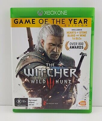 The Witcher 3: Wild Hunt Xbox One Game