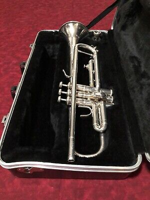Bach USA Trumpet Silver Plated