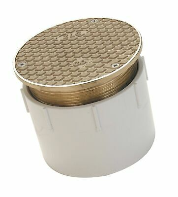 """3"""" INCH BRASS Cleanout Plug Raised Square Head Threaded"""