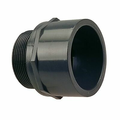 1//2 Socket x NPT Female 1//2 Socket x NPT Female Schedule 80 NIBCO 4503 Series PVC Pipe Fitting Adapter
