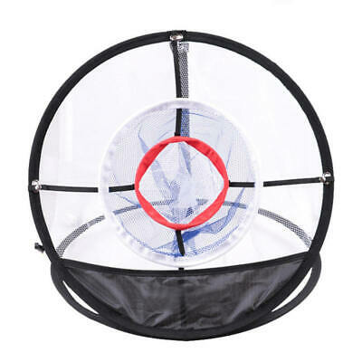 Outdoor Golf Chipping Pitching Practice Net Hitting Cage Training Aid Tools