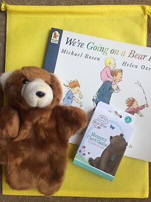We're Going On A Bear Hunt by Michael Rosen Story Resources, Books & Sack