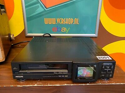 Philips VR6880 LCD Monitor VHS Recorder