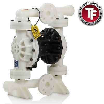 "1"" Graco Husky 1050 Air Diaphragm Pump AODD (PVDF/Sant/Sant) - 649025"