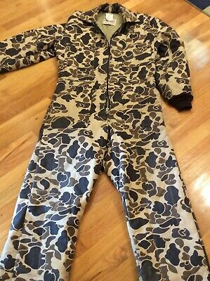 1035dd35af7a5 WALLS BLIZZARD PRUF Camo Winter One Piece Hunting Suit M/L - $64.99 ...