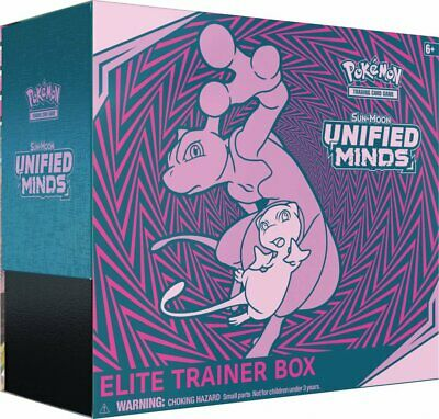 Pokemon - TCG - Unified Minds Elite Trainer Box PREORDER