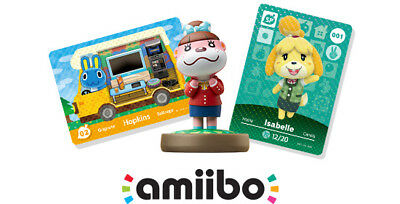 Nintendo Animal Crossing SERIES 4 Amiibo Cards- Pick your Own Card from List!