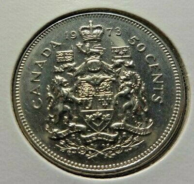 Canada 1974 50 cents * Coat of Arms* coin 27.13 mm