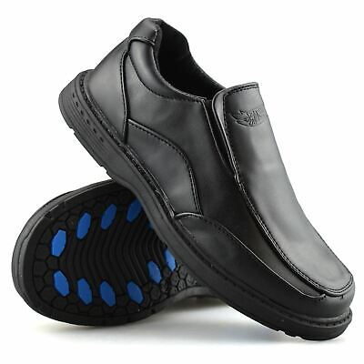 Boys Kids Shoes Wedding Smart Casual Slip On Back To School Formal Size