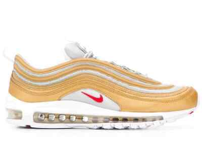 NIKE AIR MAX 97 SSL Metallic Gold White Red Größe 47 47,5 weiß BV0306 700