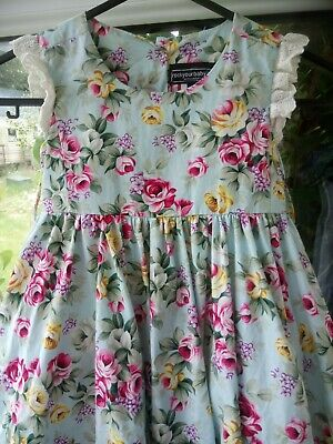 Rock your baby, beautiful floral girls designer dress age 3 years