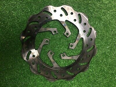 Go Kart Brake Disc Cadet Historic Retro 205mm X 6mm Zip Solid Vented Cross Drill