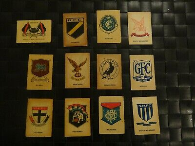 Vintage 1968 Sun Valley Twisties Vfl Football Cards- Set Of 36 Cards