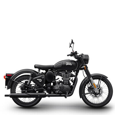 Royal Enfield 500 EFI Classic Stealth Black inklusive Anlieferung