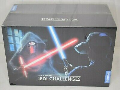 Lenovo Star Wars Jedi Challenges AR Headset Game with Lightsaber Controller New