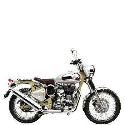 Royal Enfield Bullet Trials 500 Works Replica green inklusive Anlieferung