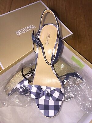 a6388b93570 MICHAEL MICHAEL KORS Pippa Gingham Dress Sandals Mult Sz - $74.99 ...