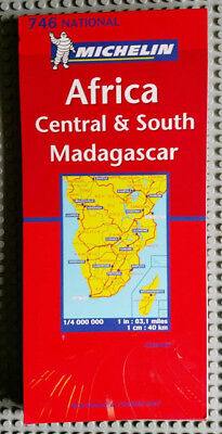 Michelin Travel Map - Africa Central & South