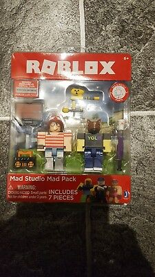 Roblox Studio Mad Game Pack Roblox Mad Studio Mad Pack Game Pack 10728 Action Toy Figures Toys Games Action Toy Figures