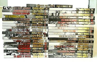 Time/Life World War II 2 Two COMPLETE 39 Volume Book Set WW2 WWII ~ *EXCELLENT*