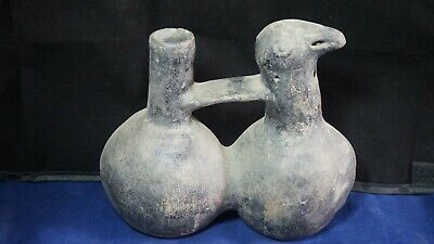 Peruvian pre- columbian chimu reproduction pottery - Huacos whistlers