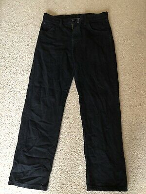 Boys Rustler Black Jeans size 31 x 30 Wore Once