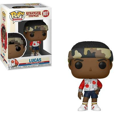 Stranger Things #807 - Lucas - Funko Pop! Television (Brand New)