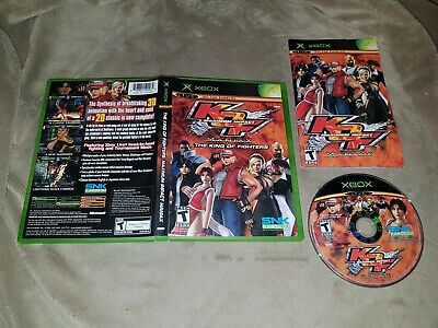 King Of Fighters Maniax Maximum Impact - Complete (Microsoft Xbox)  NTSC