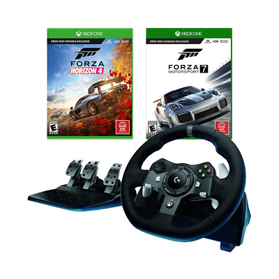 LOGITECH G920 DRIVING Force Racing Wheel with Forza Horizon