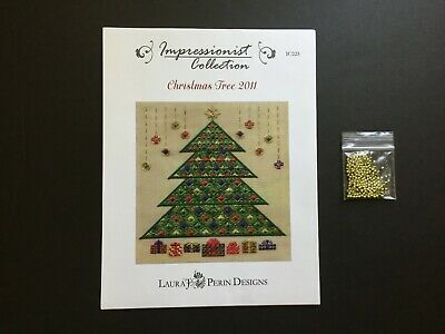 Laura J. Perin Impressionist Collection Charted Needlepoint/Christmas Tree 2011