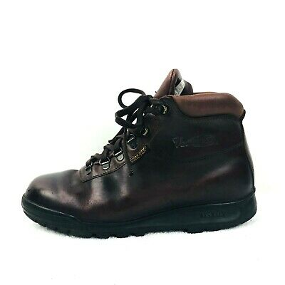 7aaafb1910bce VASQUE GORE-TEX MENS 9 M Brown Leather Skywalk Hiking Trail Boots 7142