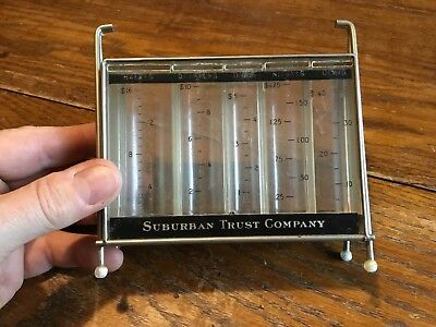 Vintage Stack Coin Bank by M.A. Gerett Company USA Suburban Trust Company Nice
