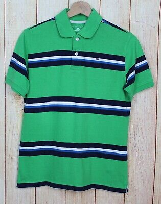 Men's Pole Boy - Tommy Hilfiger - Size 14 - MAN'S Long Sleeves Shirt Kid #3295