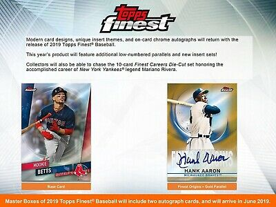 2019 Topps Finest Base Refractors & Inserts PICK A CARD/COMPLETE YOUR SET