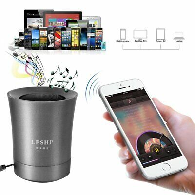 LESHP Bluetooth Wireless Speaker Portable&Rechargeable For Samsung iPhone iPad