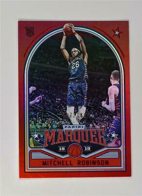 2018-19 Panini Chronicles Marquee Rookies Red #256 Mitchell Robinson /149