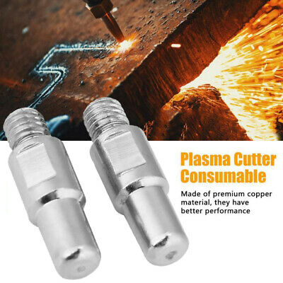 10Pcs PR0110 Electrode Plasma Cutting Consumable For S45 S25 Plasma Cutter Torch