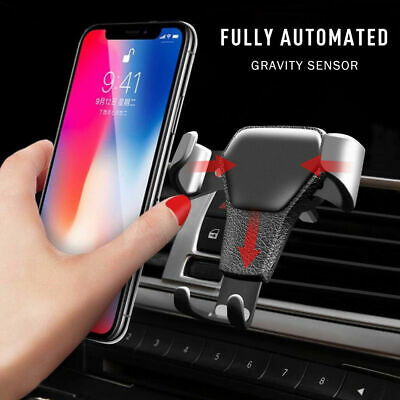 Universal Mobile Phone In Car Air Vent Mount Holders Cradle Stands Rotating New